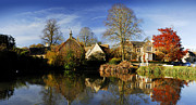Pano Photos - Elms Lodge  by John Chivers