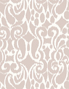 Pattern Art - Eloise - neutral by Khristian Howell