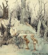 Arthur Rackham - Elves in a Wood