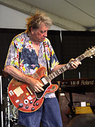 Solo Artist Prints - Elvin Bishop Print by Bill Gallagher
