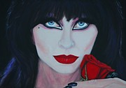 Mistress Prints - Elvira-mistress Of Darkness Print by Shirl Theis