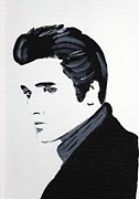 Elvis Presley Art - Elvis 2 by Audrey Pollitt