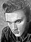 Elvis Presley Art - Elvis by Christian Carrette