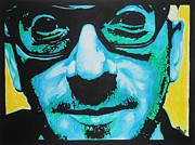 Songwriter Mixed Media - Elvis Costello by Bonnie Cushman