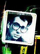 Drips Digital Art - Elvis Costello by Steve Taylor