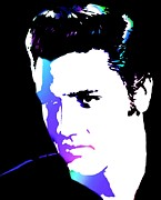 Icon Art - Elvis by Cindy Edwards