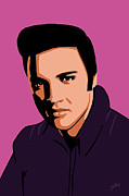 Rock Digital Art - Elvis Fifties by Jarod