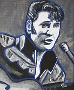 Elvis Presley Art - Elvis  by John Hooser