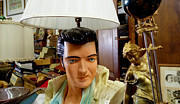 Hand Photos - Elvis Lamp in Antique Shop by Amy Cicconi