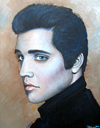 Elvis Presley Painting Originals - Elvis by Patrice Torrillo