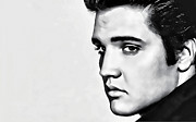 Elvis Presley Art - Elvis Presley 02 by Carlos Diaz
