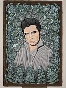 Oil Sculpture Originals - Elvis Presley by Gerald Sabatini