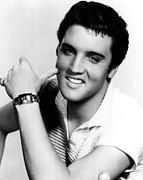 Elvis Presley Looking Casual Print by Retro Images Archive