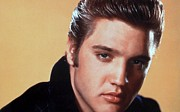 Presley Art - Elvis Presley Portrait by Sanely Great