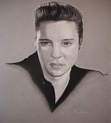 Elvis Presley Art - Elvis Presley by Riane Cook