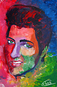 Elvis Presley Art Painting Originals - Elvis Presley by Tim Patch