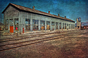 Zug Metal Prints - Ely Nevada trainstation Metal Print by Gunter Nezhoda