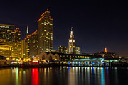 Kate Brown Metal Prints - Embarcadero Blue Hour Metal Print by Kate Brown