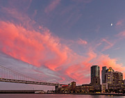 Kate Brown Metal Prints - Embarcadero Sunset Metal Print by Kate Brown