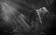 Photoart Photo Posters - Embraced by the Light.. Poster by Nina Stavlund