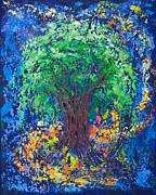 Pallet Knife Prints - Embracing Print by William Killen