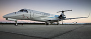 Executive Posters - Embraer Legacy 650 Executive Jet Poster by Dustin K Ryan