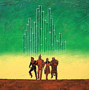 Toto Paintings - Emerald City by Bob and Marie Bretz