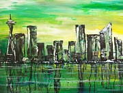 Wa Paintings - Emerald City by Chad Rice