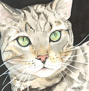Emerald Eyes Print by Kimberly Lavelle