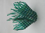 Emerald Glassket Print by Steven Schramek