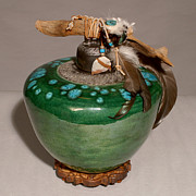 Featured Ceramics - Emerald Wave by Beth Gramith
