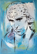 Slim Shady Prints - Eminem art painting poster Print by Kim Wang
