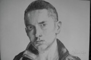 Eminem Drawings Originals - Eminem by Sarthak Palwankar