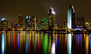 Skyline Photos - Eminent Echoes of San Diego by Ryan Hartson-Weddle