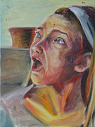 Shock Painting Originals - Emma by Elizabeth Paroni