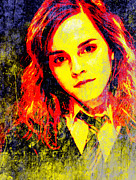 Hermione Granger Digital Art - Emma Watson as Hermione Granger by John Novis