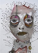 Outsider Art Mixed Media - Emotion 1 by Gail Miller