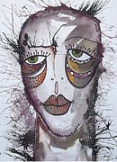 Outsider Art Mixed Media - Emotion 2 by Gail Miller