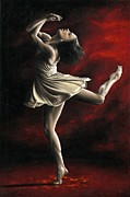 Dancer Paintings - Emotional Awakening by Richard Young