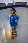 Wooden Ship Prints - Emperor Norton Figurehead Print by Garry Gay