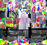 Nyc Digital Art Originals - Empire MOMA by Ted Packman