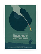 Vintage Posters Art - Empire of the Sun Poster by Sanely Great