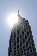 Empire State Building Digital Art - Empire State at Hign Noon by Bill Cannon