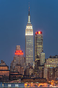 Skies - Empire State Building II by Clarence Holmes