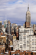 Midtown West Prints - Empire State Building Midtown Manhattan Skyline New-York Print by Eldad Carin