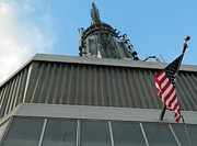 Empire State Building Point Of View Print by Emmy Marie Vickers