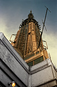Empire State Building Digital Art Metal Prints - Empire State Building Summit Metal Print by Daniel Hagerman