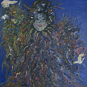 Impressionist Mixed Media - Empress by Jeanne Ward