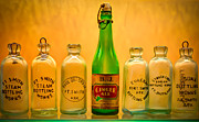 Bottle. Bottling Photo Posters - Empties Poster by James Barber