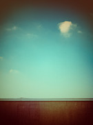 Silvia Ganora - Emptiness with wall and cloud